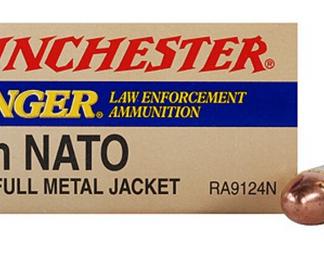 9mm ranger winchester ammo