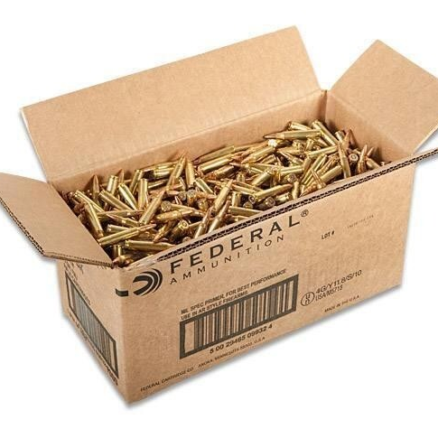 1000 Remington .223 FMJ 55gr