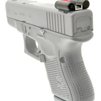 LaserLyte Rear Sight with Red Laser Glock